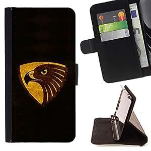 - cool black brown gold eagle/ Personalizada del estilo del dise???¡¯???¡Ào de la PU Caso de encargo del cuero del tir???¡¯????n del s - Cao - For Sony Xp