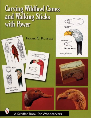 Carving Wildfowl Canes And Walking Sticks With Power (Schiffer Book for Woodcarvers)