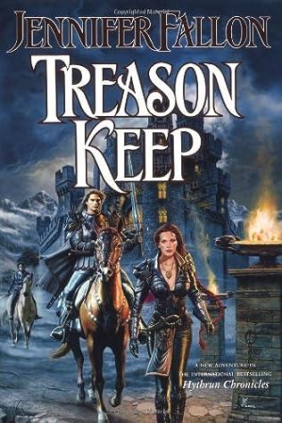 book cover of Treason Keep