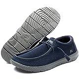 Eureka USA Traveler Pro Men's Casual Slip-On Sneaker, Comfort Stretch Moccasin Loafer and Walking Chukka Boot