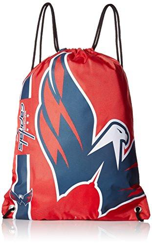 FOCO Washington Capitals Big Logo Drawstring Backpack ()