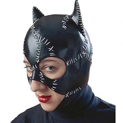 [Catwoman Costume Mask Halloween Batman Black +eBook] (Catwoman Batman Returns Costume)