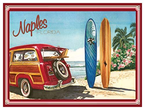 Naples FL Giclee Art Print Poster by Evelyn Jenkins Drew (9