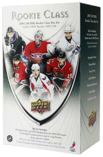 Upper Deck NHL Commemorative Box Sets - 2007-08 NHL Rookie Class Box Set