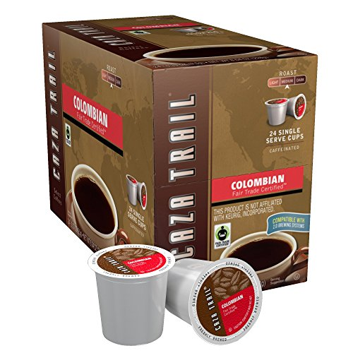 Caza Out Coffee, Colombian, 24 Single Serve Cups