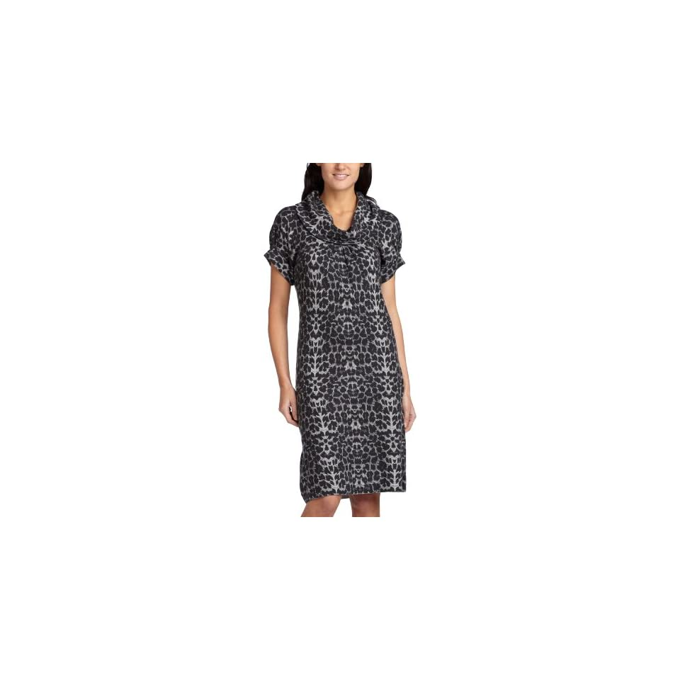 Kenneth Cole Womens Cowl Neck Dress