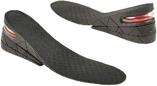 男女兼用 フリーサイズ 3段階調整(3cm+1.5cm+1.5cm) 最大6cmアップ シークレットインソール 22.5cm~27cm調整可能