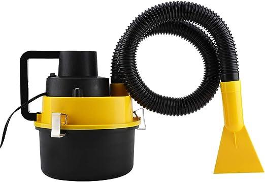 Aspirador para coche 12V 90W, Aspirador Portátil de coche con 4 Boquillas+Cable de 3m: Amazon.es: Hogar