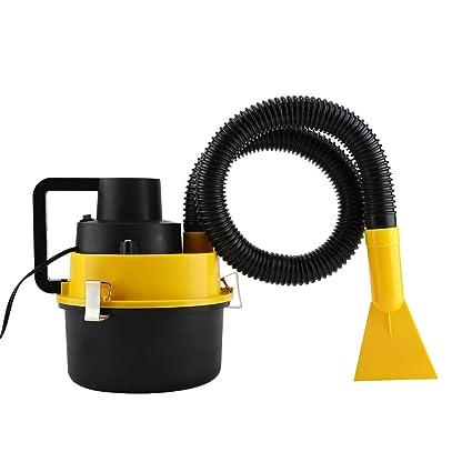 Aspirador para coche 12V 90W, Aspirador Portátil de coche con 4 Boquillas+Cable de