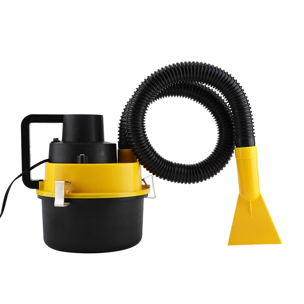 Car Vacuum Cleaner, 12V 90W Portable Wet Dry Car Cleaners Handheld Dust Liquid Remover Machine Onboard Vacuum Tool with Accessories
