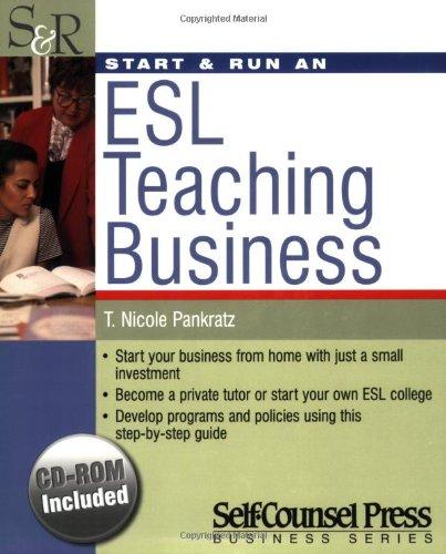 Download Start & Run an ESL Teaching Business pdf