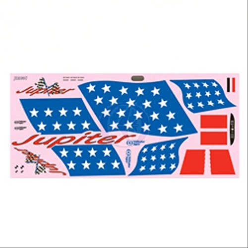 (Thunder Tiger Decal Sheet 4592 AS6704 TRS)