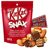 NESTLÉ KITKAT Snax, Bite Sized Chocolatey Wafer Snack Mix, 120 g, 120 Grams