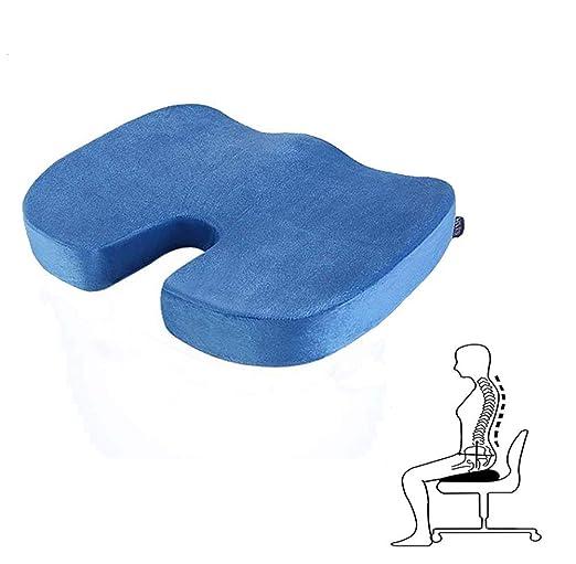Ting Ting Cojin de Espuma con Memoria para Silla ergonomico ...
