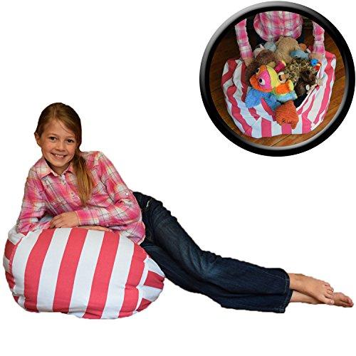 Stuffed Animal Storage Bean Chair