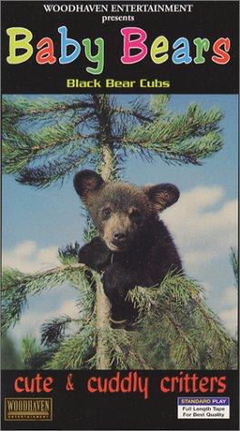 - Cute & Cuddly Critters: Baby Bears (Black Bear Cubs) [VHS]