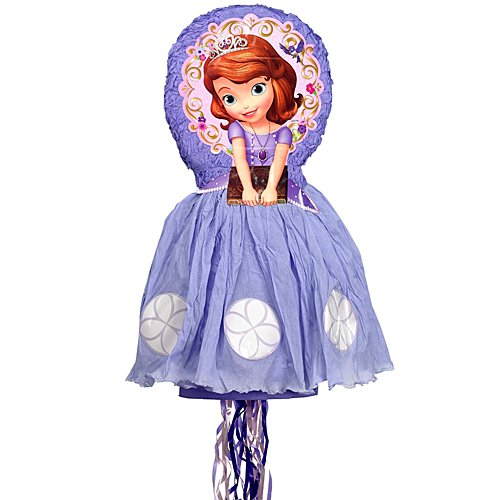 Disney Sofia the First 3d Pull-string Pinata