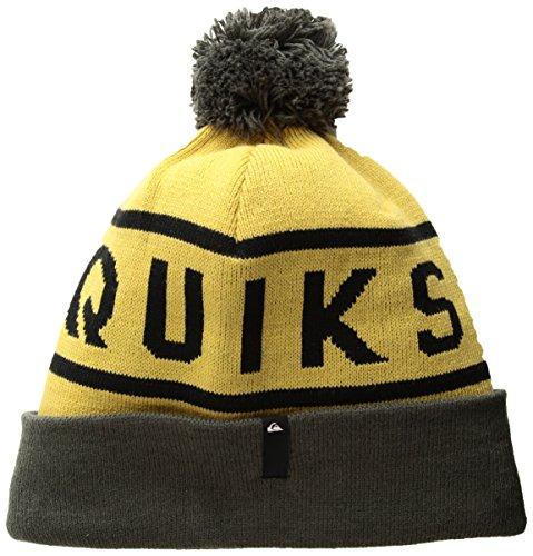 Quiksilver Snow Men's Summit Snow Ski Beanie, mustard gold, One Size