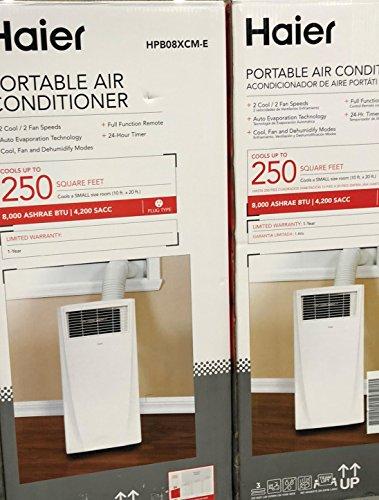 Portable Air Conditioner 8000 BTU Amazing! Haier
