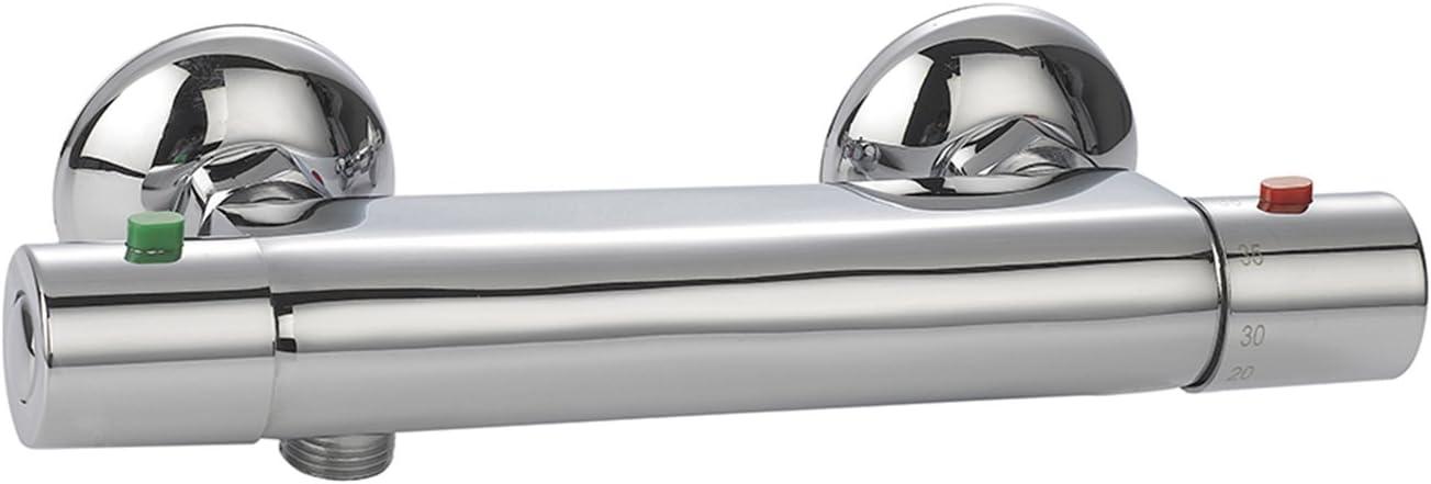 Rousseau 4270620 Eros termostático ducha cromado: Amazon.es ...