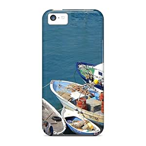 New Vessels In Porto Ercole Italy Tpu Case Cover, Anti-scratch Richavans Phone Case For Iphone 5c
