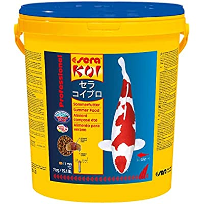 Sera 7018 KOI Professional Summer 15.4 lb 7 kg Pet Food, One Size