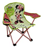 Best Disney Travel Beach Chairs - Disney Kids Green & Pink Minnie Mouse Bowtique Review
