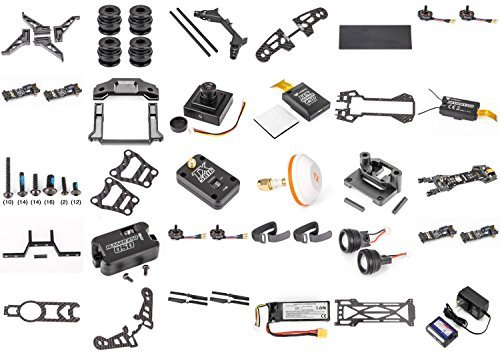 Walkera-Runner-250-DIY-BNF-DIY-58Ghz-FPV-Racing-Drone-Build-KitNo-Controller-Quadcopter-School-or-Fun-Project-FAST-FROM-Orlando-Florida-USA-by-HobbyFlip