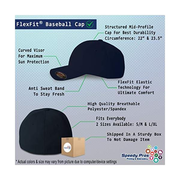 Flexfit Hats for Men & Women Dog Border Collie Lifeline A Embroidery Polyester 2