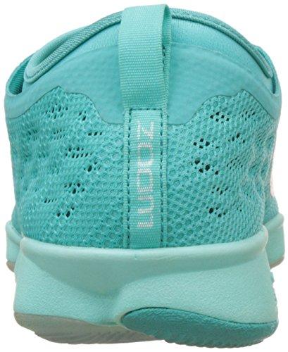 Nike Damen Zoom Fit Agility Low Top Schnürrunning Sneaker Hyper Jade / Elfenbein-Hyper Traube Tropical