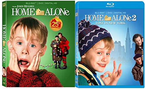Home Alone 1 & Home Alone 2: Lost in New York 2-Blu-ray Christmas Bundle -