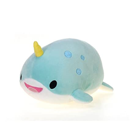 Amazon Com Fiesta Toys Lil Huggy Lyssa Narwhal Stuffed Toy 8