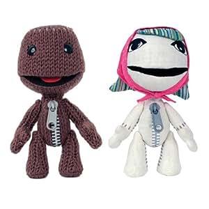 LittleBigPlanet Sackboy & Sackgirl 6'' Plush 2-pack