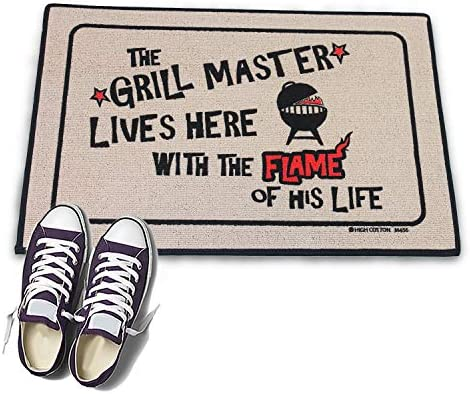 High Cotton Welcome Doormat – The Grill Master Lives Here