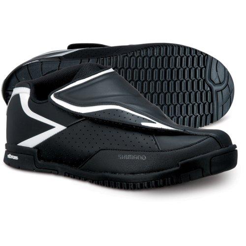 Shimano Chaussures de vélo Adulte All Mountain SH-AM41Gr. 39Vibram Semelle Sans Chaussures SPD, multicolore, 39, E de sham4139