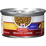 Hill'S Science Diet Senior Healthy Cuisine Wet Cat Food, Adult 7+ Roasted Chicken & Rice Medley Canned Cat Food, 2.8 Oz, 24 Pack