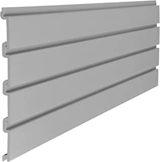 "product image for Suncast 4"" Resin Slatwall Panel Sections - Gray"