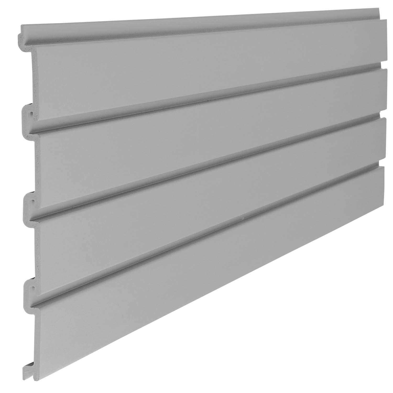Suncast 4'' Resin Slatwall Panel Sections - Gray