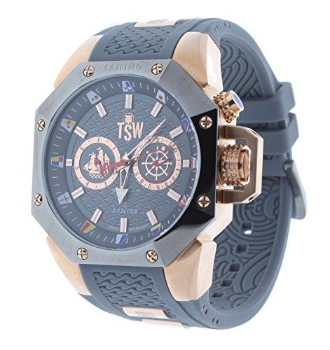 Technosport TS-100-SAIL8 Men's Watch Rose Gold/Gray Sailing Swiss Day/Date Movement