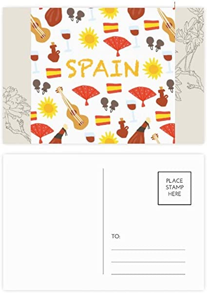 DIYthinker España Flamenco alimento para flores tarjetas postales ...