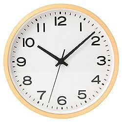 [Muji] Wall Clock Natural Color Large 37330030 from Japan