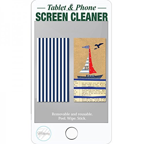 Wellspring Gift Mini Screen Cleaner for I Phone Tablet Camera or - On Try Eyeglasses