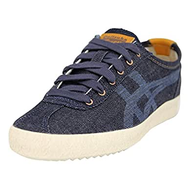 Asics Mexico Delegation, Zapatillas Unisex Adulto, Azul (Poseidon/Off-White), 40.5 EU