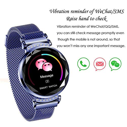 Smart Bracelet for Android and iOS, Businda Waterproof Fitness Tracker Smartwatch with Blood Pressure Sleep Monitor Period Reminder Step Calorie Counter for Smartphones Gift by Businda (Image #6)