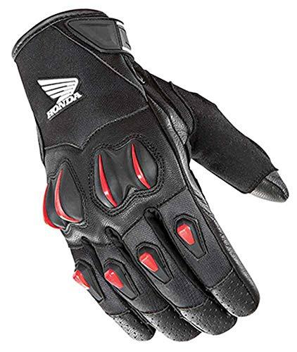 Joe Rocket Honda Cyntek Motorcycle Gloves Black/Red Mens Size XL
