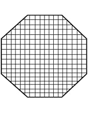 Fotodiox 10Egg36OCTEZ Pro Studio Solutions EZ Pro Octagon Softbox 36-Inch EggCrate-50 Degree Grid (Each Grid Size: 2-Inch x 2 -Inchx1.5-Inch), Egg Crate-Black
