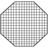 "Fotodiox Pro Octagon Eggcrate Grid for 36"" Softbox - Fits EZ-Pro & Pro Standard Softboxes - 50 Degrees 2x2x1.5"" Openings"