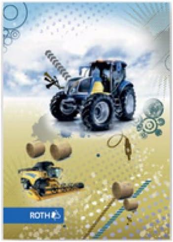 """ROTH Oktavheft """"Traktor"""", DIN A6, liniert, 32 Blatt VE=1"""