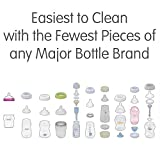 Baby Brezza Two Piece Natural Glass Baby Bottle