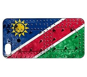 Funda Carcasa para iPhone SE Bandera NAMIBIA 06